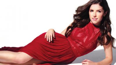 Anna Kendrick Red Dress Wallpaper 65703