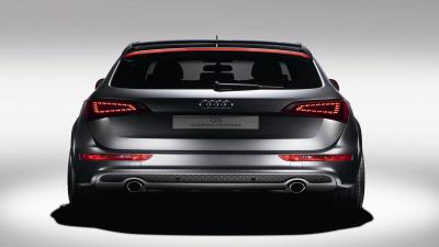Audi Q5 Back View Wallpaper 66018