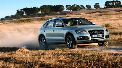 Audi Q5 Off Roading Wallpaper 66012