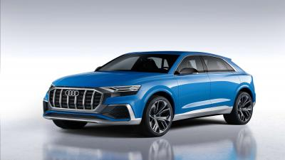 Audi Q8 Car Background Wallpaper 66029