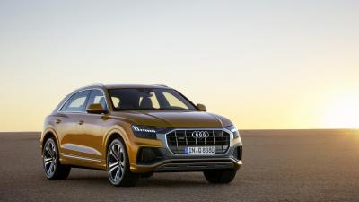 Audi Q8 Desktop HD Wallpaper 66030