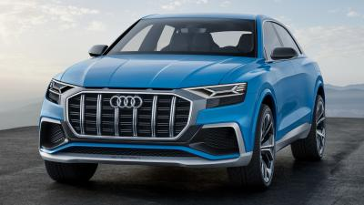 Audi Q8 Desktop Wallpaper 66028
