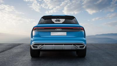 Audi Q8 Widescreen Background Wallpaper 66025