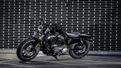 Black Harley Davidson Bike HD Wallpaper 64662