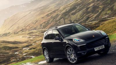 Black Porsche Cayenne Wallpaper 66069