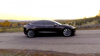 Black Tesla Model 3 Wallpaper 66047