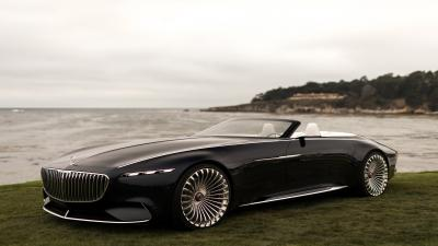 Black Vision Mercedes Maybach Car HD Wallpaper 63568