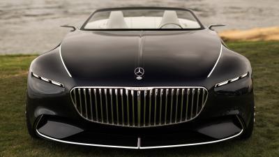 Black Vision Mercedes Maybach Wallpaper 63565