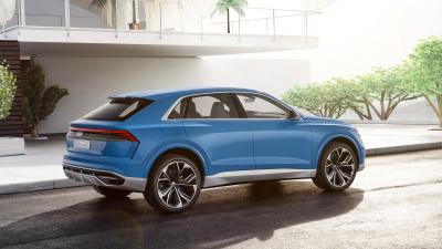 Blue Audi Q8 Wallpaper 66022