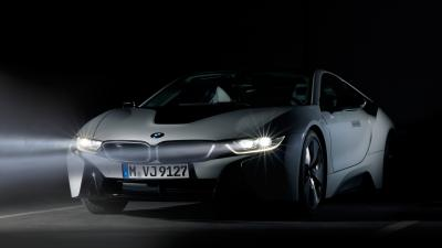 BMW i8 Headlights Pictures Wallpaper 64654