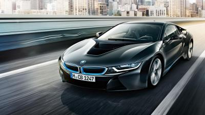 BMW i8 Rolling Shot Wallpaper 64650