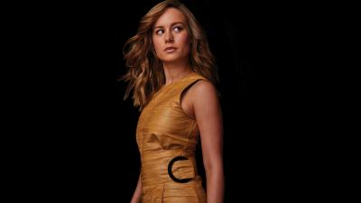 Brie Larson Yellow Dress HD Wallpaper 65113