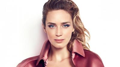 Emily Blunt Face Makeup Wallpaper 66108