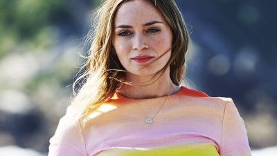 Emily Blunt Wide HD Wallpaper 66100