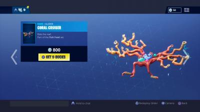 Fortnite Coral Cruiser Wallpaper 66491