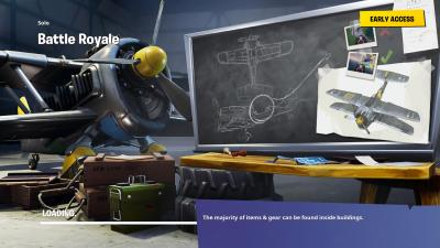 Fortnite Plane Loading Screen Wallpaper 66493