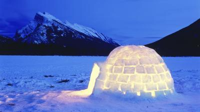 Igloo Photography Desktop Wallpaper 62561