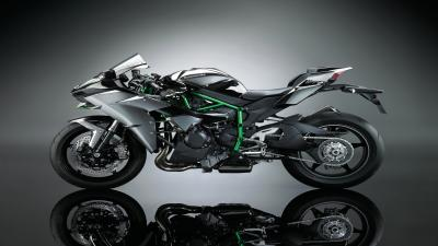 Kawasaki Ninja H2 Bike Background Wallpaper 64735