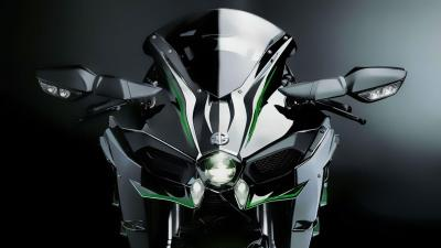 Kawasaki Ninja H2 Bike Front View Wallpaper 64738