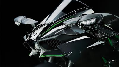 Kawasaki Ninja H2 Bike Photos Wallpaper 64734