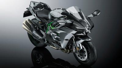 Kawasaki Ninja H2 Bike Wide Wallpaper 64736