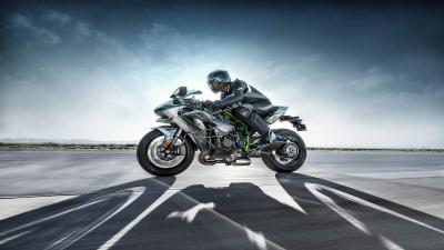 Kawasaki Ninja H2 Wallpaper Background 64730