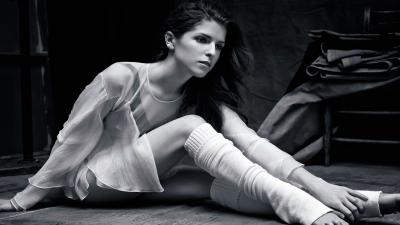 Monochrome Anna Kendrick Wallpaper 65684