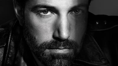 Monochrome Ben Affleck Wallpaper 64721
