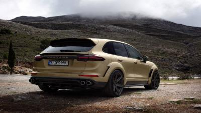 Porsche Cayenne Rear View Wallpaper 66087