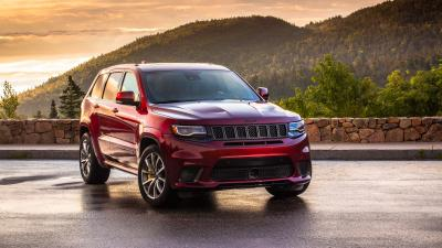 Red Jeep Cherokee Wide Wallpaper 65155