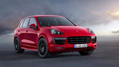Red Porsche Cayenne Wallpaper 66068