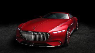 Red Vision Mercedes Maybach Wallpaper 63564