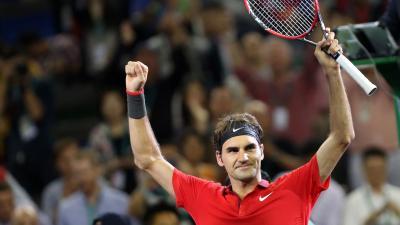 Roger Federer Celebrating Wallpaper 64967