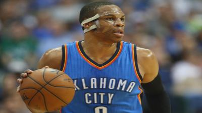 Russell Westbrook Face Mask Wallpaper 63571