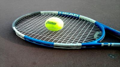Tennis Racket Computer Photo Wallpaper 65179