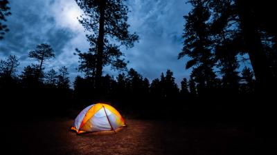 Tent Camping Nature Widescreen Wallpaper 65764