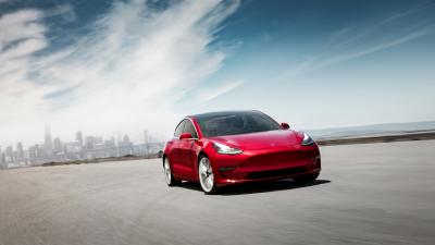 Tesla Model 3 Background Wallpaper 66040