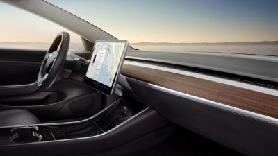Tesla Model 3 Interior Wallpaper 66041