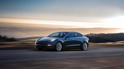 Tesla Model 3 Rolling Shot HD Wallpaper 66038