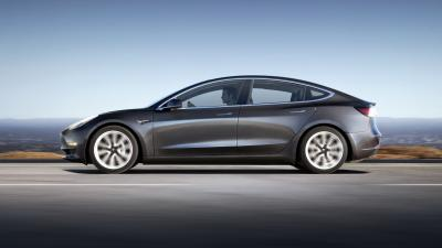 Tesla Model 3 Side View Wallpaper 66045
