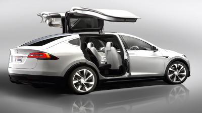 Tesla Model X Doors Wallpaper 66051