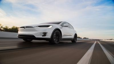 Tesla Model X Rolling Shot Wallpaper 66059