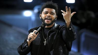 The Weeknd Performing HD Wallpaper 65714