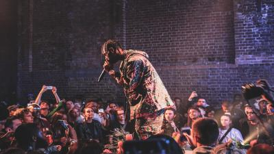 Travis Scott Performing HD Wallpaper 66498