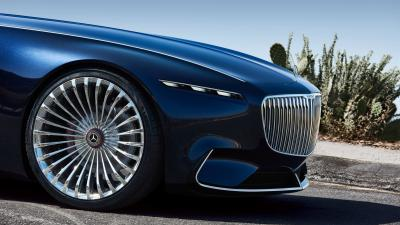Vision Mercedes Maybach Car Front View Wallpaper 63556