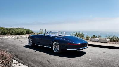 Vision Mercedes Maybach Convertible Wallpaper 63567
