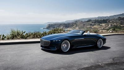 Vision Mercedes Maybach Widescreen HD Wallpaper 63557
