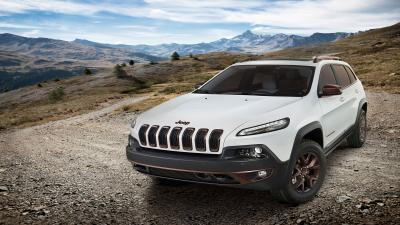 White Jeep Cherokee Wallpaper 65150