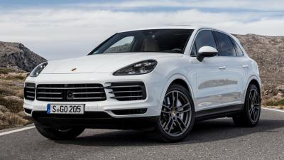 White Porsche Cayenne Wallpaper 66075