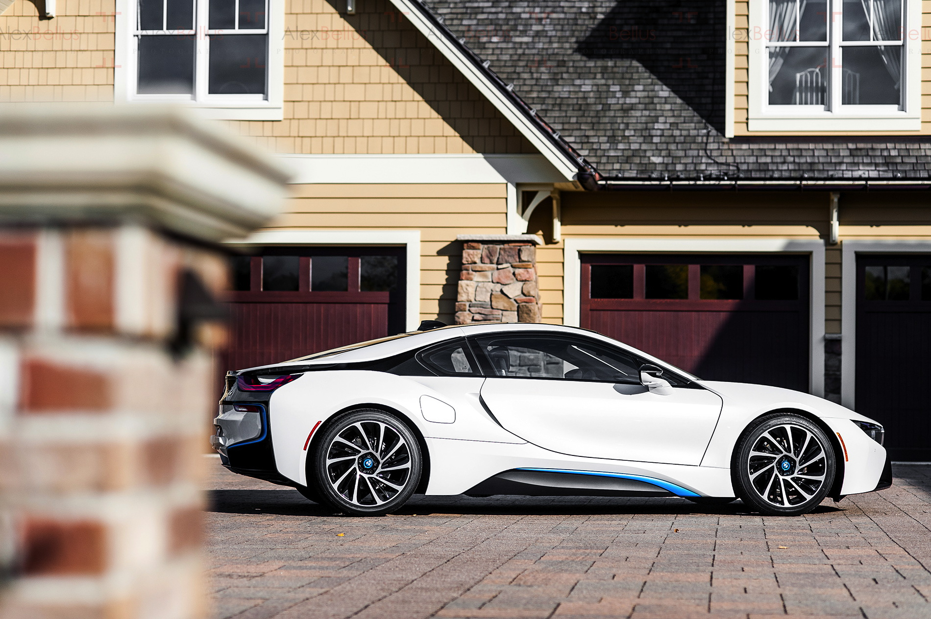 white bmw i8 car wallpaper 64653